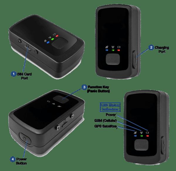 LoneStar Tracking GL300 small gps tracker