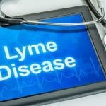 Tablet with lyme disease