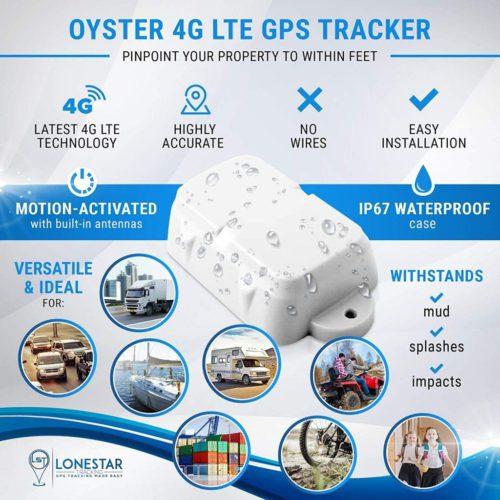 Waterproof 4G GPS Tracker