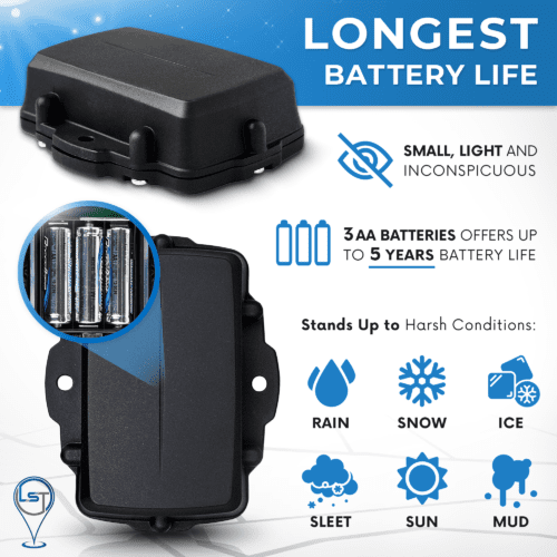 Oyster2 waterproof battery powered gps tracker