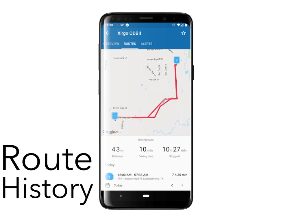 GPS bike tracker features