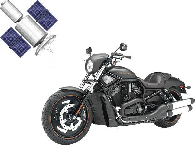 Motorcycle GPS Tracker with Satellite