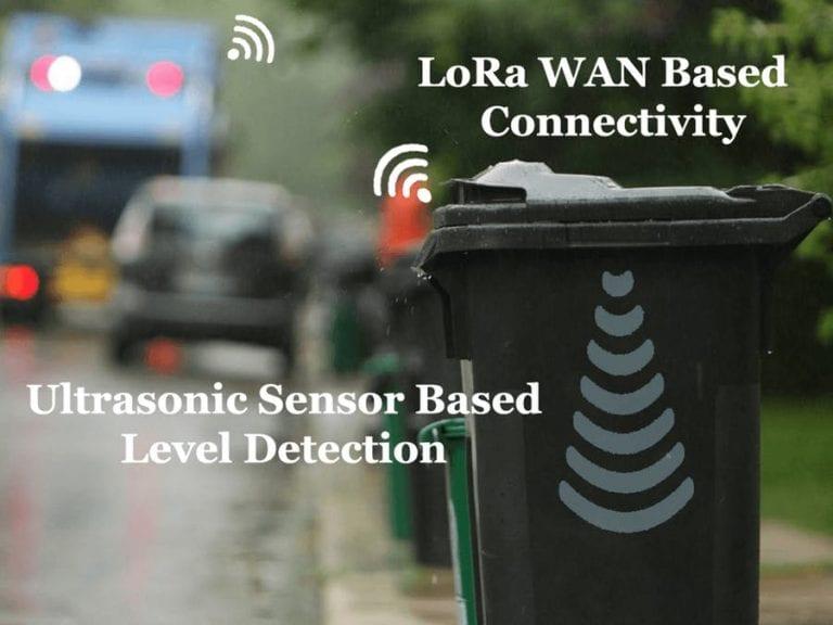 waste bin level sensor image